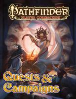 Pathfinder Player Companion: Quests & Campaigns  9781601255136