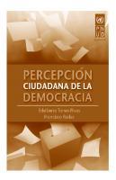 Percepcion Ciudadana De La Democracia
