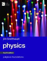 Physics [Fourth edition.]  9781137443243, 1137443243