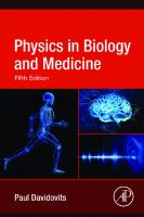 Physics in Biology and Medicine [5 ed.]