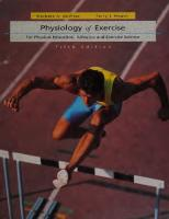 Physiology of exercise for physical education, athletics and exercise science [5ed.]  0697100979