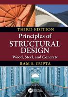 Principles of structural design : wood, steel, and concrete [Third edition.]