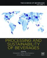 Processing and Sustainability of Beverages: Volume 2: The Science of Beverages  9780128152591, 9780128156995, 0128152591