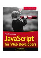 Professional JavaScript® for Web Developers [4th ed.]