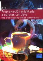 Programacion Orientada A Objetos Con Java