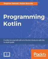 Programming kotlin  9781787126367, 1787126366