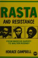 Rasta and Resistance: From Marcus Garvey to Walter Rodney [3rd printinged.]  0865430357, 9780865430358, 0865430349