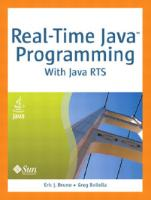 Real-time Java programming with Java RTS  9780137142989, 0137142986