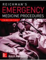 Reichman's Emergency Medicine Procedures [3rd Edition]  9781259861932