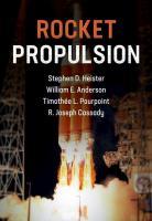 Rocket Propulsion  1108422276, 9781108422277