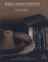 Rudos contra científicos: la Universidad Nacional durante la Revolución mexicana  9681206908