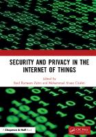 Security and Privacy in the Internet of Things  9780367859947, 9781003016304
