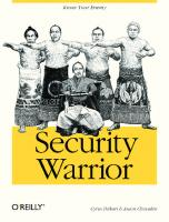 Security Warrior [First Edition]