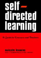 Self-Directed Learning: A guide for Learners and Teachers  0695811169