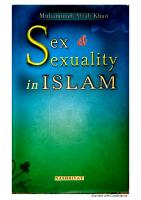 Sex and Sexuality in Islam