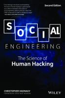 Social Engineering: The Science of Human Hacking  9781119433385, 9781119433736, 9781119433750, 111943338X