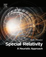 Special Relativity: A Heuristic Approach  0128104112, 9780128104118
