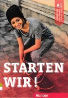 Starten wir! A1: Deutsch als Fremdsprache / Arbeitsbuch [1ed.]  3190260001, 9783190260003