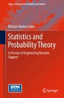 Statistics and probability theory  9789400740556, 9789400740563