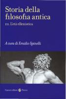 Storia della filosofia antica. L'età ellenistica [Vol. 3]  8843080458, 9788843080458
