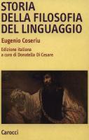Storia della filosofia del linguaggio  8843053507, 9788843053506
