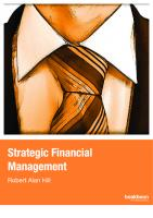 Strategic financial management  9788776814250