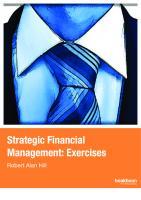 Strategic financial management: Exercises  9788770614269