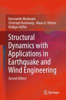 Structural Dynamics with Applications in Earthquake and Wind Engineering [2nd ed.]