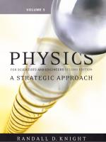 Student workbook [to accompany] Physics for scientists and engineers with modern physics: a strategic approach [2nd ed.]  9780321513571, 0321513576, 9780321516398, 0321516397