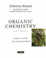 Student's Solutions Manual for Organic Chemistry [9th Edition]  0134160371, 9780134160375