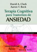 Terapia cognitiva para trastornos de ansiedad: ciencia y práctica