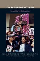 Terrorizing Women: Feminicide in the Americas  0822346699, 9780822346692