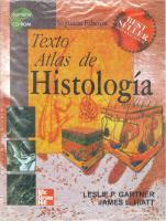 Texto atlas de histologia [2ed.]  9789701037287, 9701037286