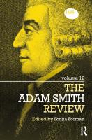 The Adam Smith Review  9780691154053