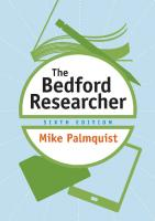 The Bedford Researcher [Sixth edition]  1319058485, 9781319130473
