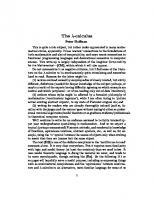 The λ-calculus (lambda calculus)