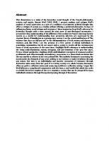 The Critical Spirit: The Pessimistic Heterodoxy of Simone Weil