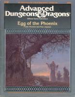 The Egg of the Phoenix: Special Module I12 (Advanced Dungeons & Dragons)  0880384719