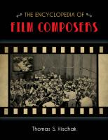 The Encyclopedia of Film Composers  1442245492, 9781442245495