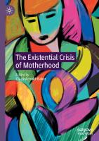 The Existential Crisis of Motherhood  3030564983, 9783030564988