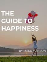 The Guide to Happiness