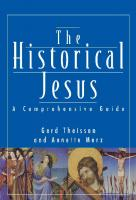 The Historical Jesus: A Comprehensive Guide  9780800631222