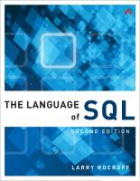 The language of SQL [Second edition]