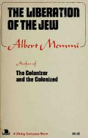 The Liberation of the Jew