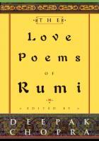 The Love Poems of Rumi  0609602438, 9780609602430