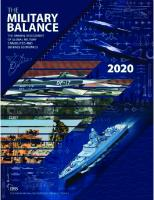 The Military Balance 2020 [First Edition]