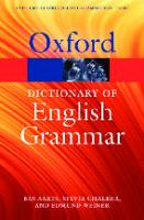 The Oxford Dictionary of English Grammar [2ed.]  0199658234, 9780199658237