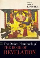 The Oxford Handbook of the Book of Revelation  0190655437, 9780190655433