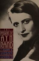 The Passion of Ayn Rand [3 ed.]