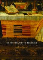 The Reformation of the Image
